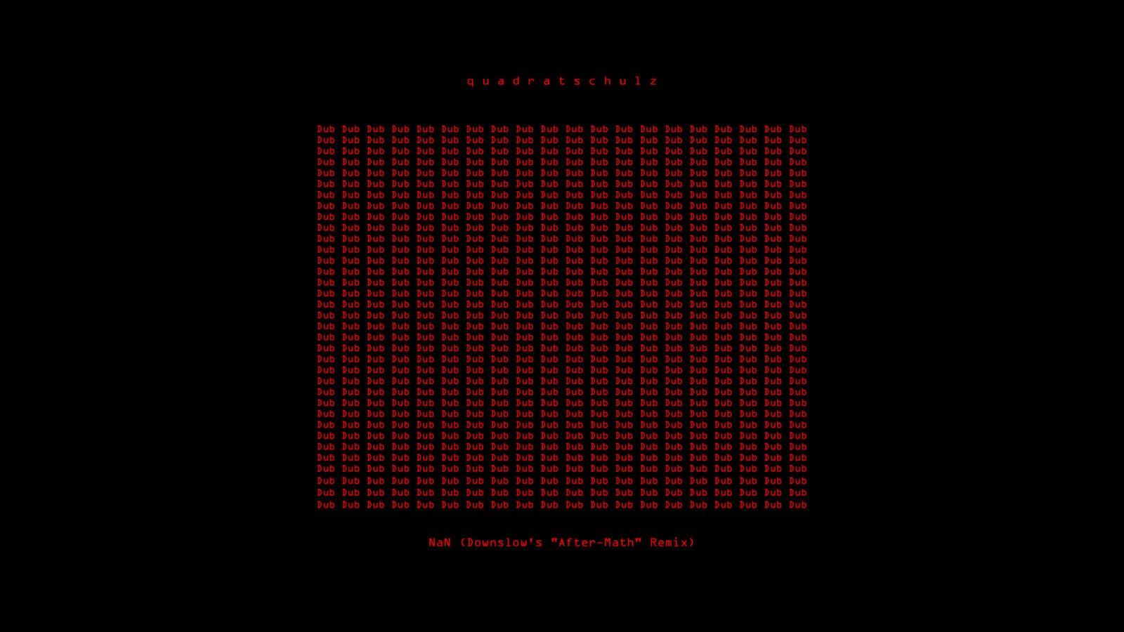 Remix für quadratschulz (mit Video)