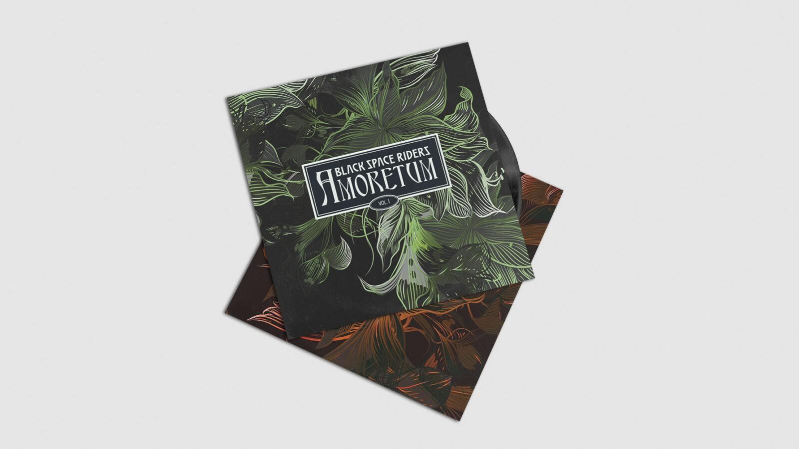 Album Design für Black Space Riders